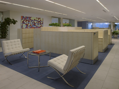 Barcelona Chairs can be found in offices all over the world