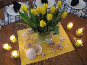 Tulips and Seashells