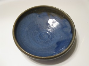 Perhaps someone gave you a hand made pottery dish.