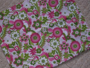 I couldn't have found a better coordinating fabric had I designed  it myself.