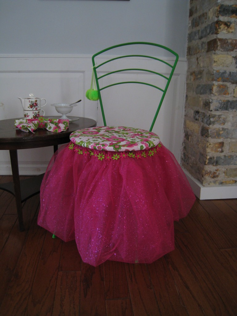 A chair fit for a little princess (or even a Queen)