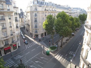 We stayed on Boulevard Raspail