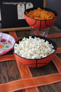 March Madness Party basketball bowl