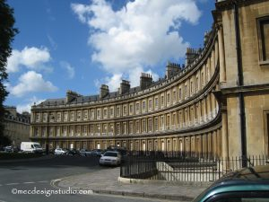 The Royal Crescent, Bath England
