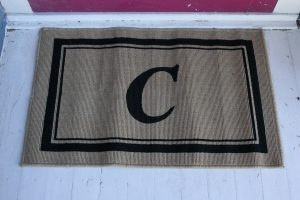 Make a Personalized Welcome Mat