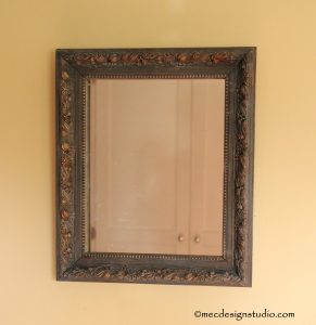 Antique Mirror with Chalk Paint