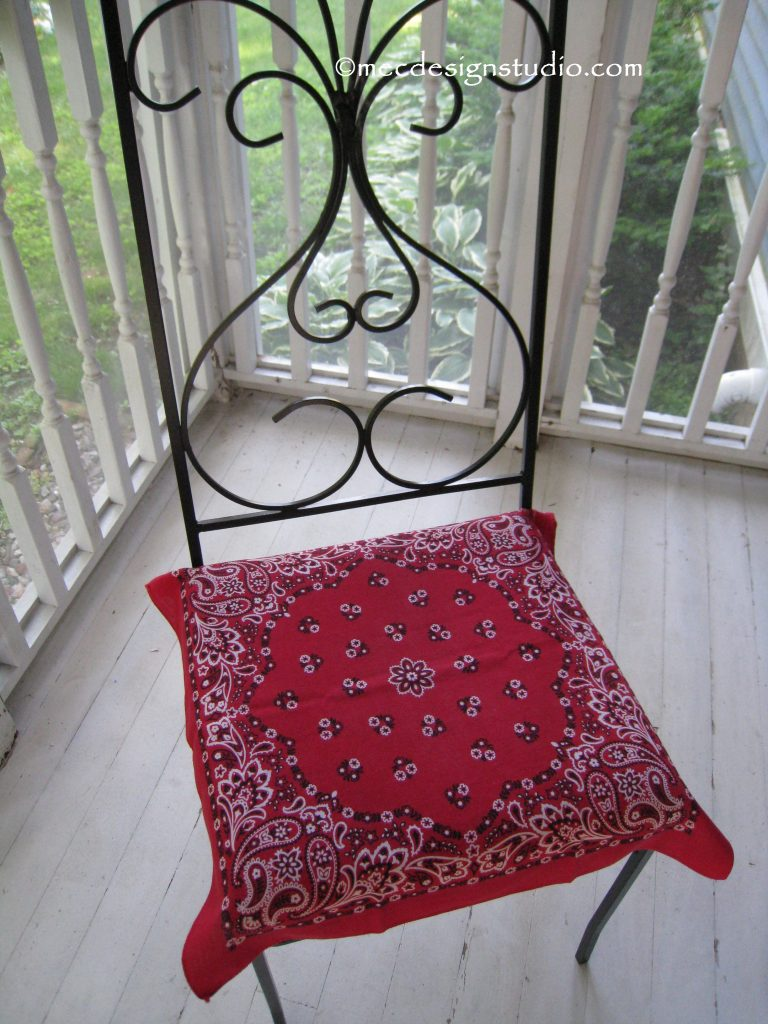 Bandana Chair Cover