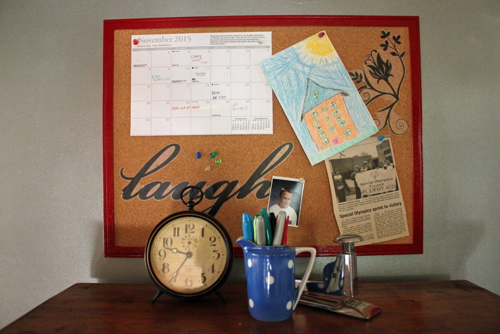 Personalize the Family Message Board with Decals