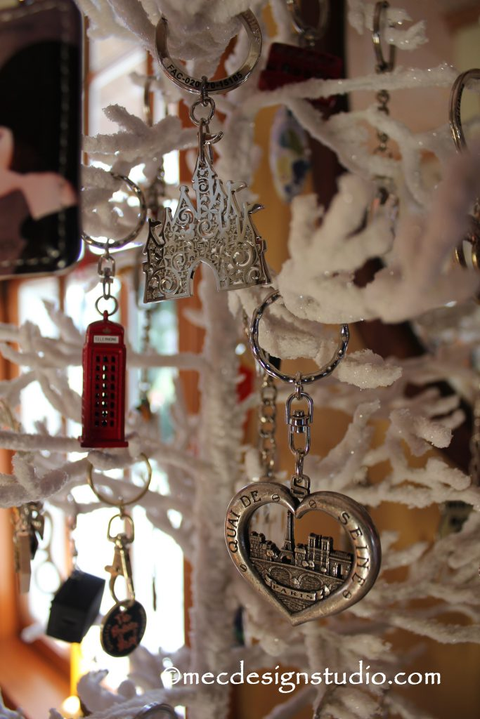 Key Chain Christmas Tree Paris