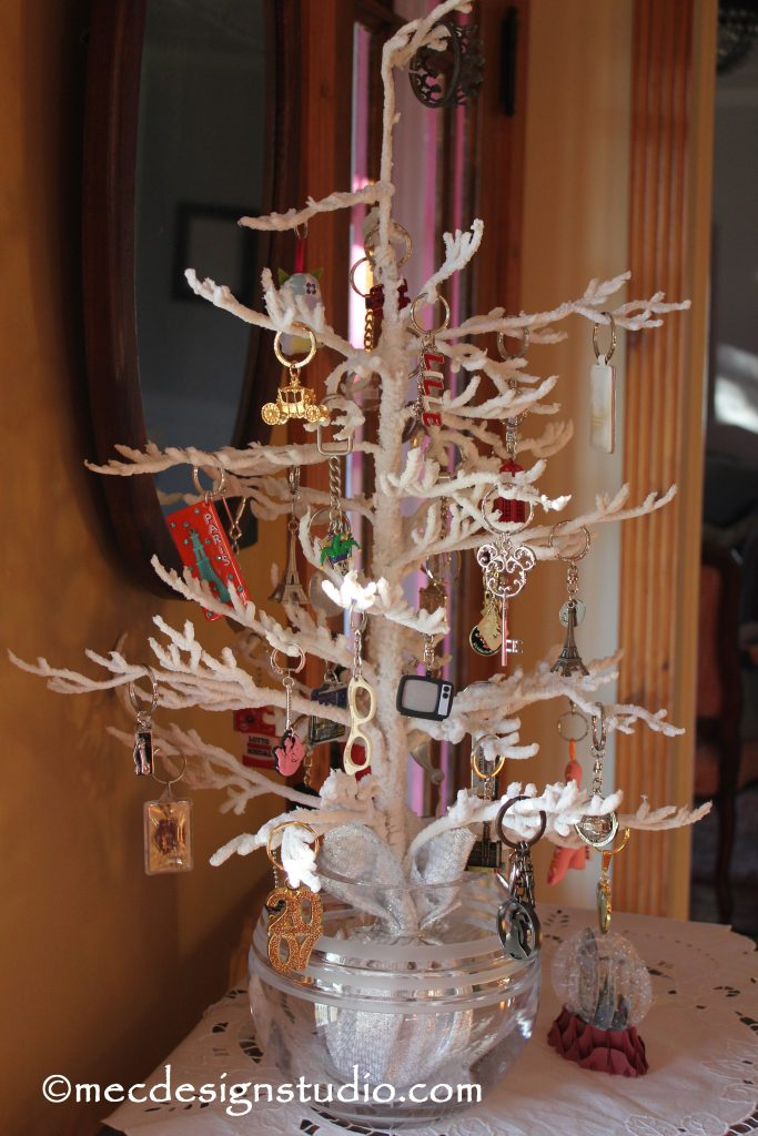 Key Chain Christmas Tree