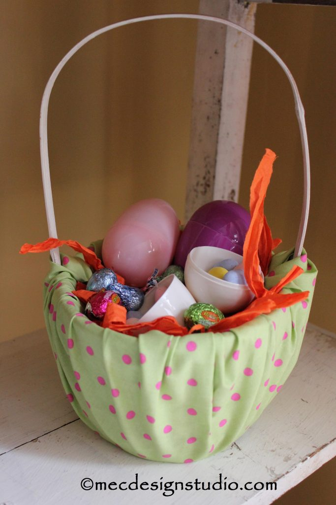 Easter Basket Fabric