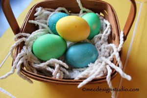 Easter Basket Grass Chenille Trim