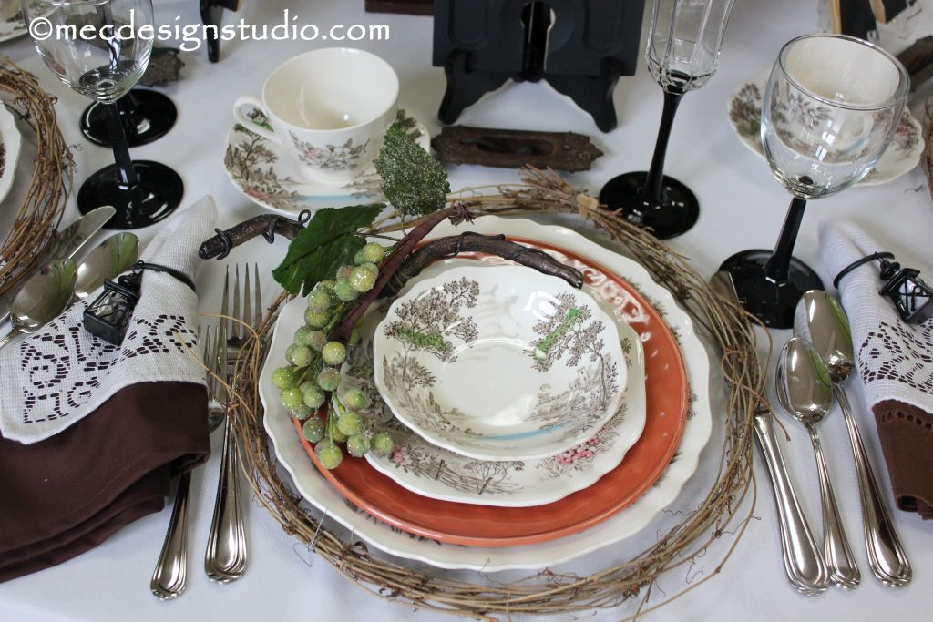 Tuscany Tablesetting