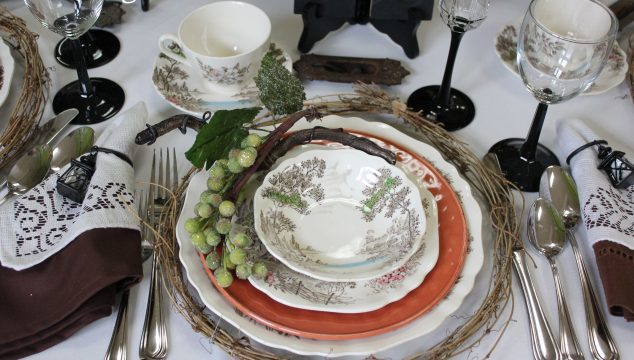 Tuscany Table Setting