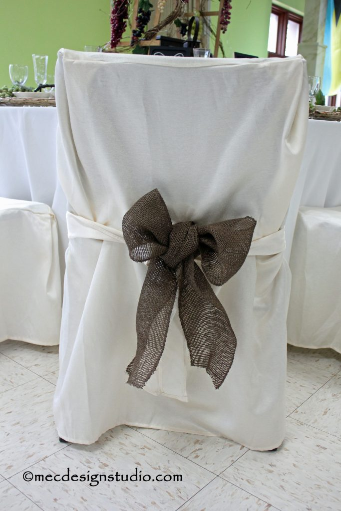 Tuscany Tablesetting Chair Cover