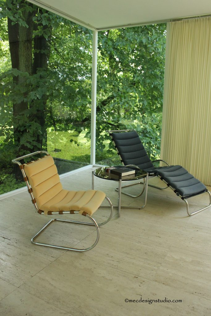 FH Mies van der Rohe chairs