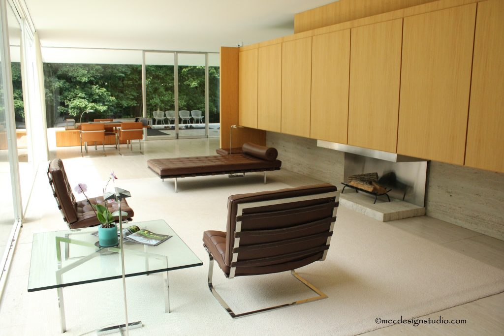 Farnsworth House LIving Room - 2