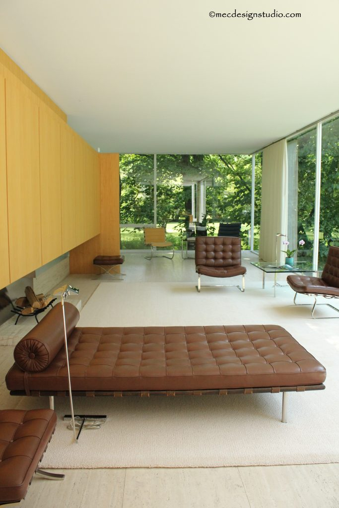 Farnsworth House LIving Room