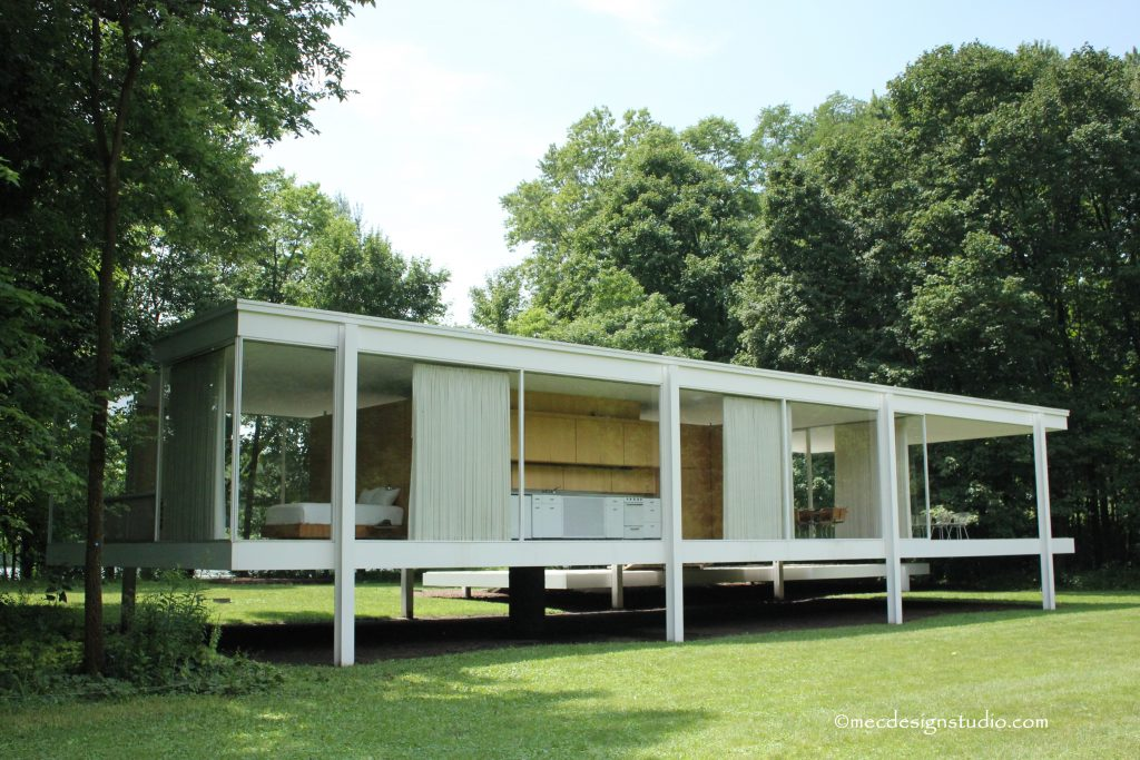 Farnsworth House Rear View