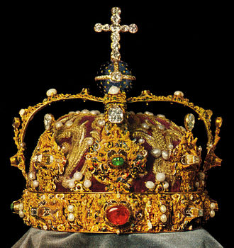 Crown of King Eric XIV of Sweden.