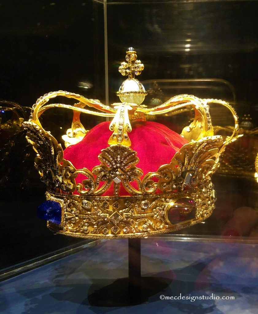 Denmark's Crown of Christian V