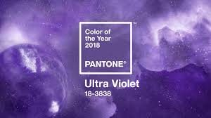 Pantone 2018 Color of the Year Ultra Violet