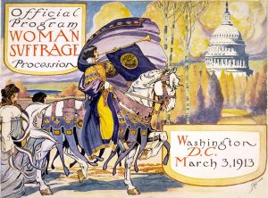 Women's Suffrage poster 1913